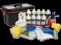 Super Kit (200 Lavagens a seco) + Carrinho Organizador