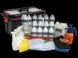 Super Kit (500 Lavagens a Seco) + Carrinho Organizador