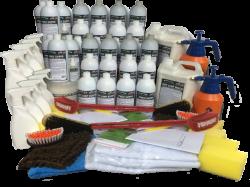 Mega Kit Ecolavagem Profissional Completo (1.000 Lavagens a Seco)