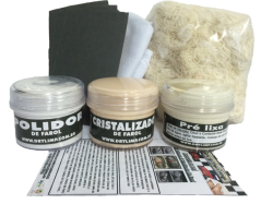 Kit Polidor E Cristalizador De Farol _ Revitaliza Farol Amarelado