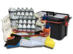 Mega Kit (1.000 Lavagens a Seco)  + Carrinho Organizador