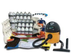 Mega Kit Ecolavagem Profissional Completo (1.000 Lavagens a Seco) + Aspirador