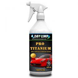 DRY LIMP PRO TITANIUM  12 Unidades de 200ml - Cristalização Ecológica e proteção da pintura  (Pronto Uso)