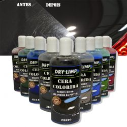 Cera Colorida Automotiva Dry Limp