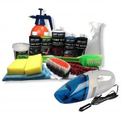 Kit Ecolavagem DRY LIMP + Aspirador Portátil (70 lavagens a Seco)