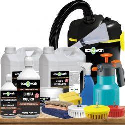 Lava Sofá Profissional + Aspirador + Escovas + Bico Extrator