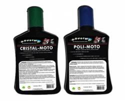 Kit Polidor e Cristalizador para Motos